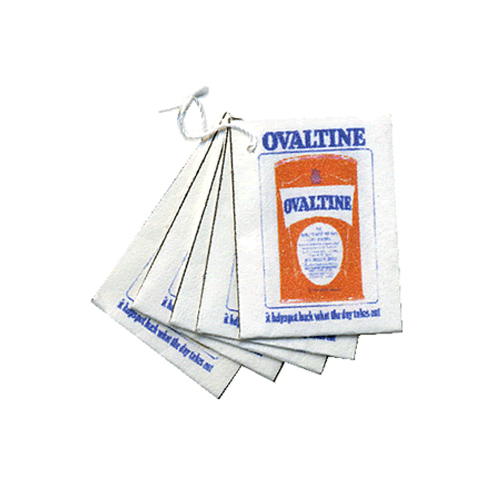 Ovaltine Provisions Bags