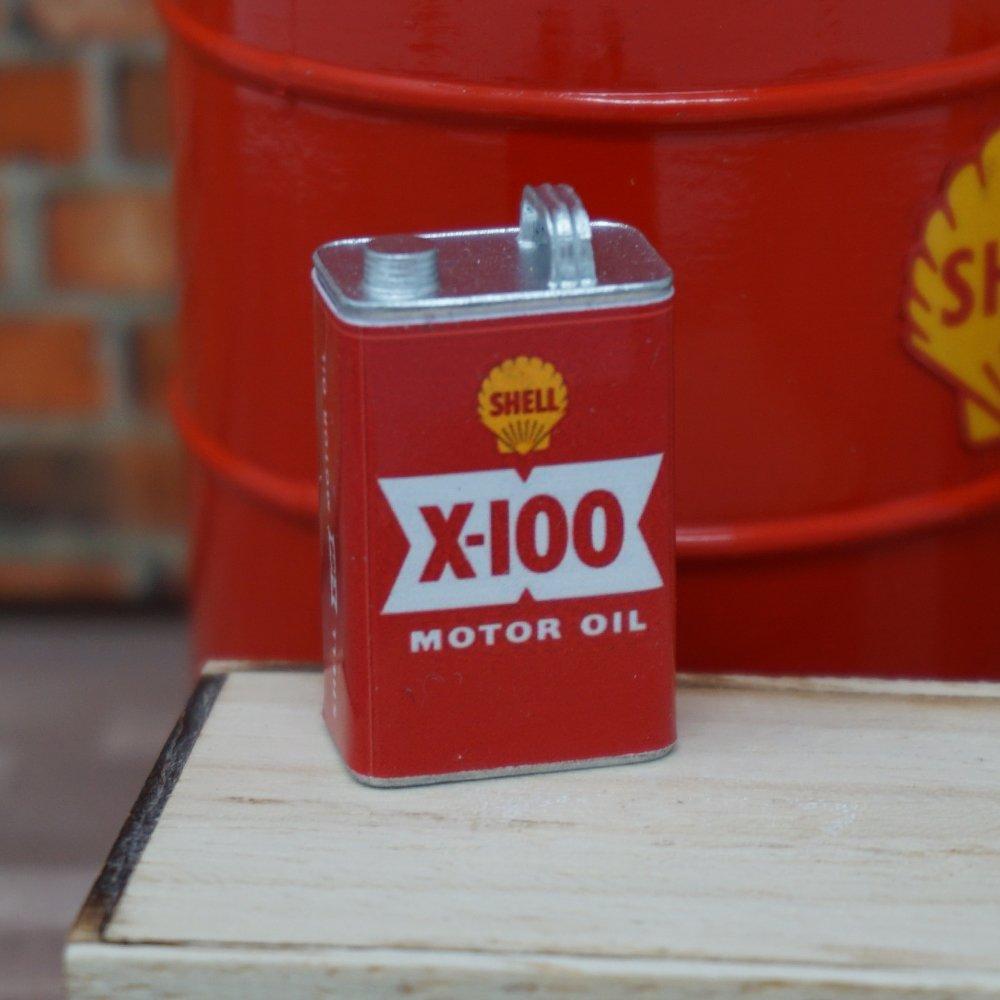 Shell X-100 Motor Oil