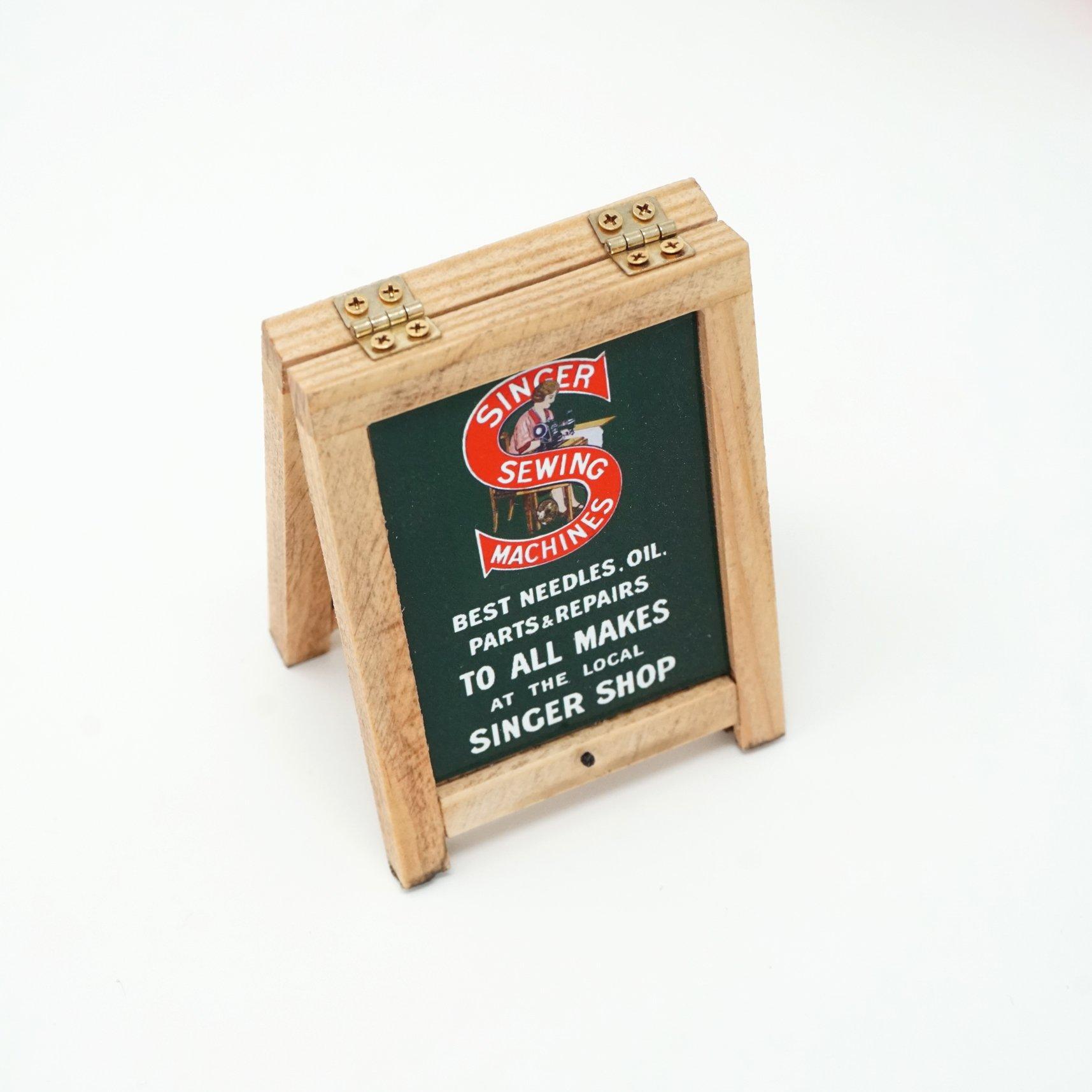 Singer Shop A-Board